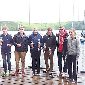 2013, Laacher See, Opti- und 42oer-RL-Regatta