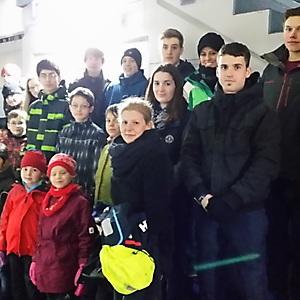 2014, Eislaufen in Neuwied