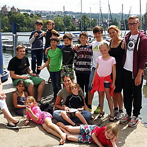 2014, Opticamp im Juni