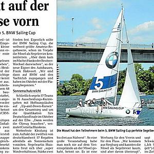 2010, BMW-Sailingcup