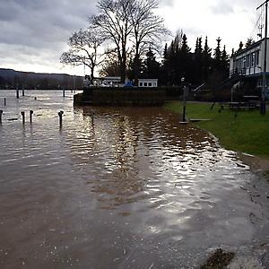 2011, Hochwasser im Januar