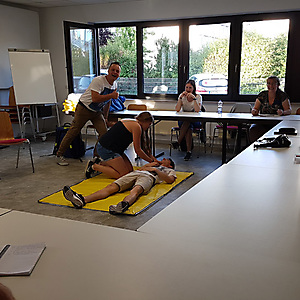 2018, Erste-Hilfe Seminar