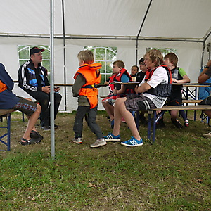 2012, Opti-Segelcamp im August