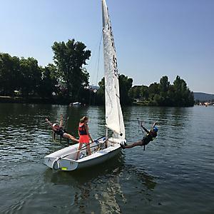 2018, Segel-Sommercamp der Jugend